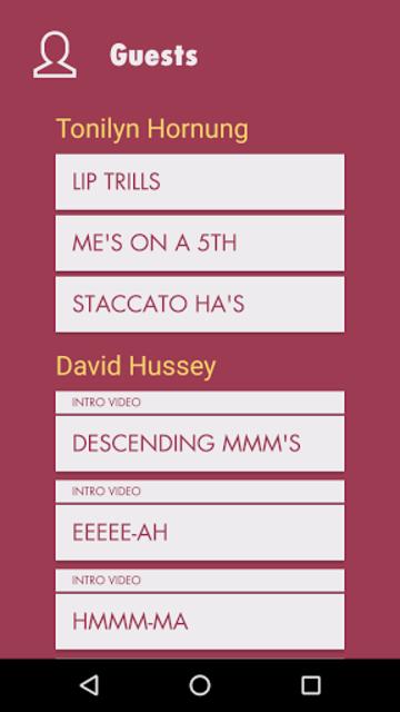 Vocal Ease screenshot 2