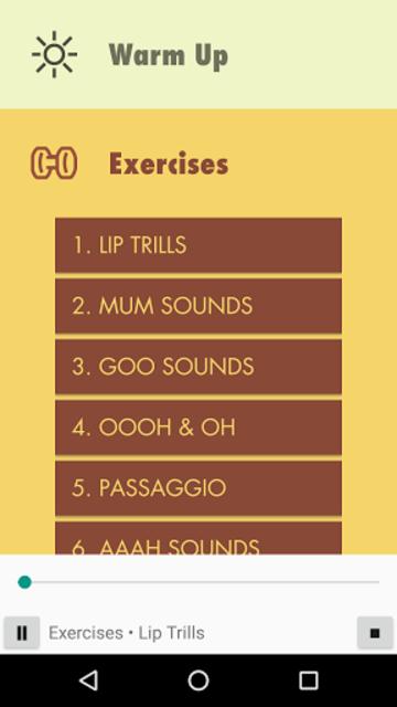 Vocal Ease screenshot 5