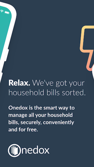 Onedox: All your household bills in one place screenshot 2