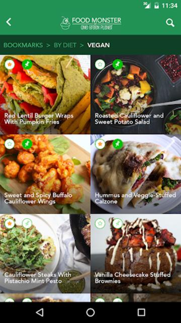 Food Monster: Vegan Recipes screenshot 6