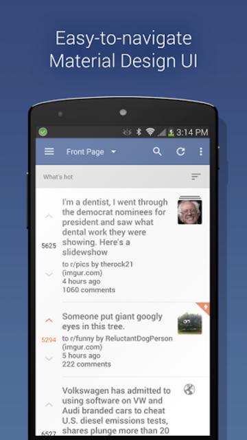 BaconReader for Reddit screenshot 1