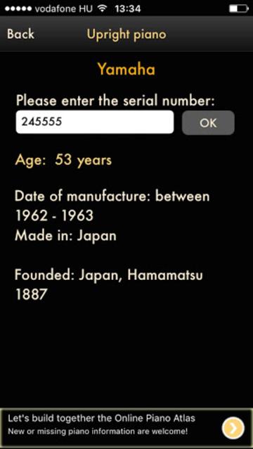 Online Piano Atlas screenshot 3