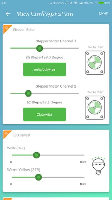 RSL10 Sense and Control screenshot 3