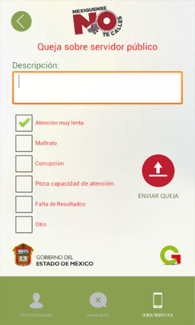Quejas Transporte publico screenshot 1