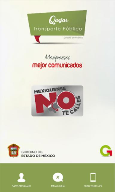 Quejas Transporte publico screenshot 2