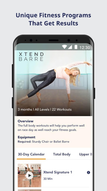 Openfit screenshot 1