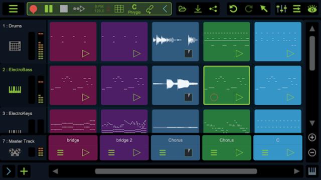 Stagelight: Audio and MIDI DAW screenshot 1