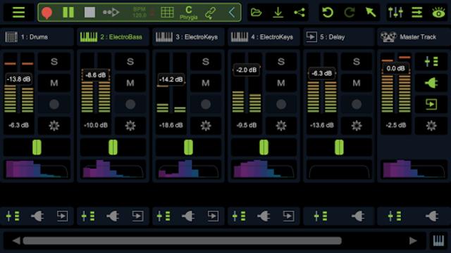 Stagelight: Audio and MIDI DAW screenshot 4