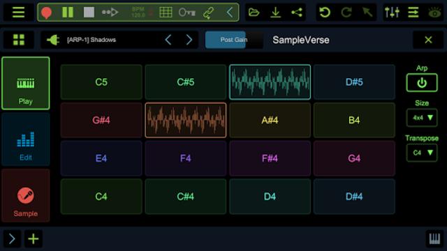 Stagelight: Audio and MIDI DAW screenshot 5