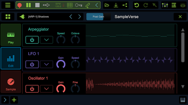 Stagelight: Audio and MIDI DAW screenshot 6