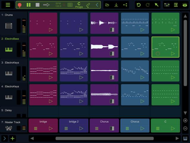 Stagelight: Audio and MIDI DAW screenshot 9