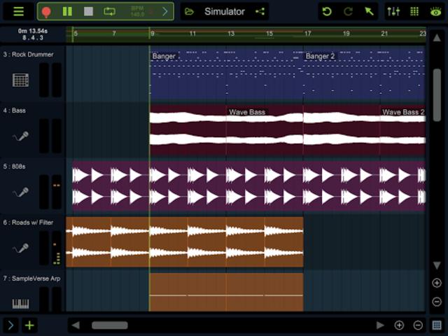 Stagelight: Audio and MIDI DAW screenshot 10