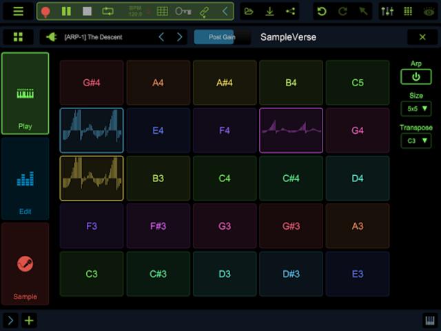 Stagelight: Audio and MIDI DAW screenshot 12