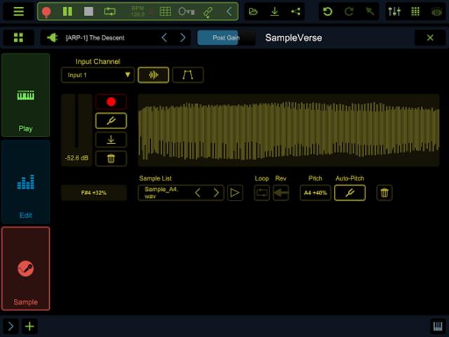Stagelight: Audio and MIDI DAW screenshot 14