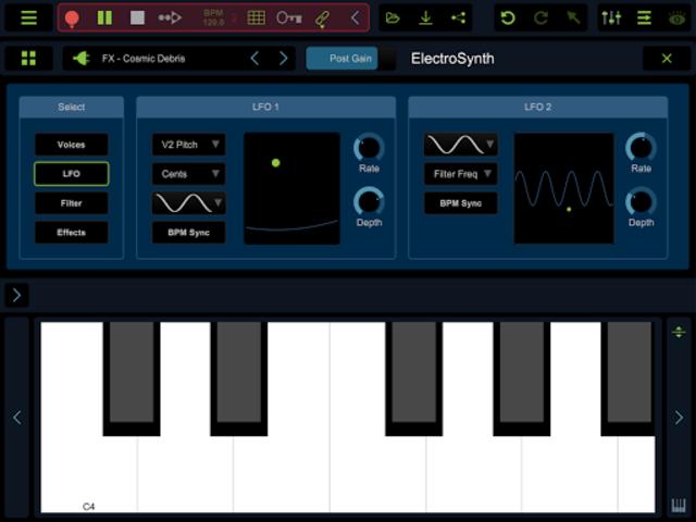 Stagelight: Audio and MIDI DAW screenshot 16
