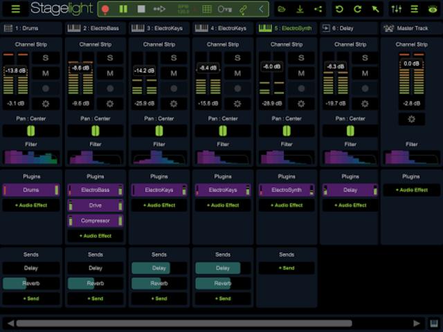 Stagelight: Audio and MIDI DAW screenshot 19