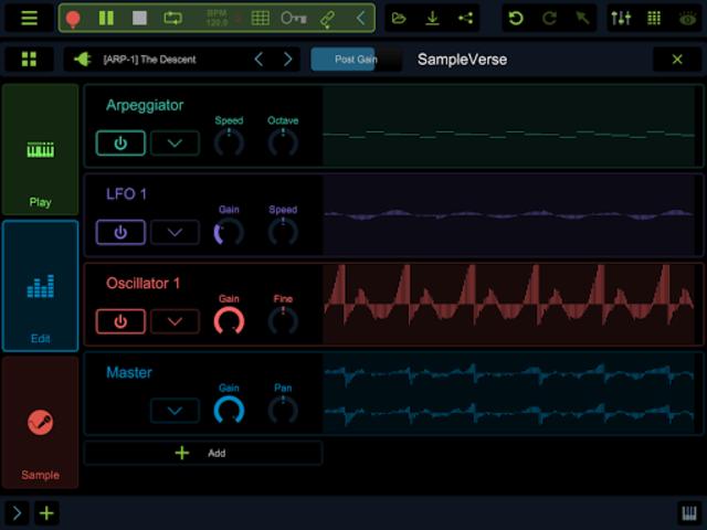 Stagelight: Audio and MIDI DAW screenshot 21