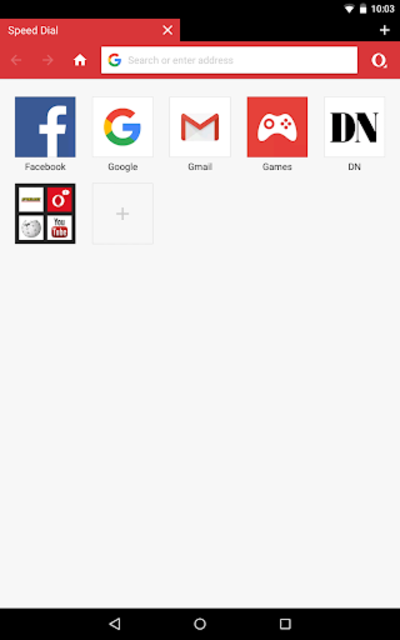Opera Mini browser beta screenshot 11