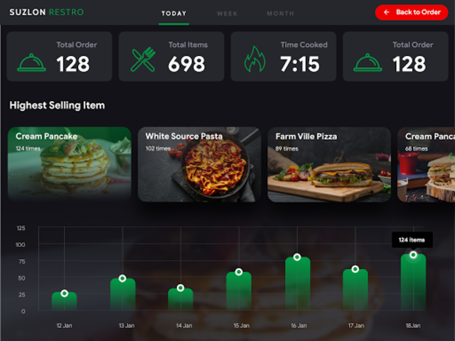 Suzlon Kitchen - Template screenshot 3