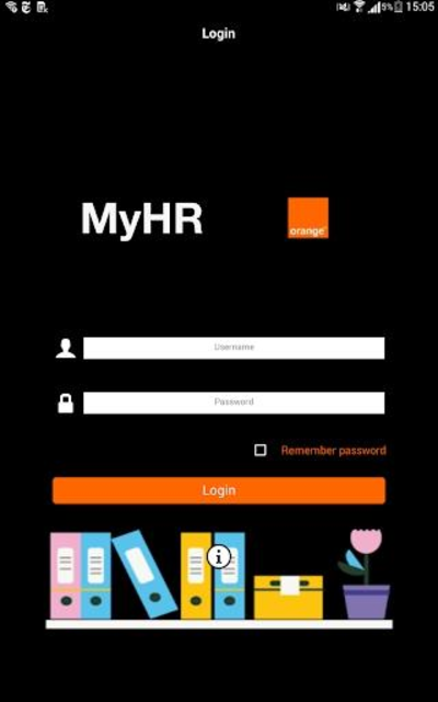 Orange MyHR screenshot 1