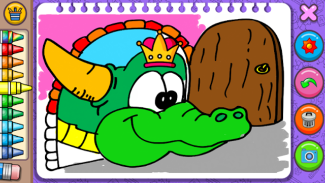 Princess Coloring Book & Games screenshot 5