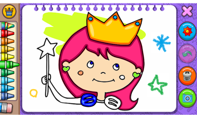 Princess Coloring Book & Games screenshot 1