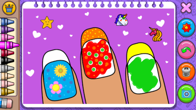 Princess Coloring Book & Games screenshot 11