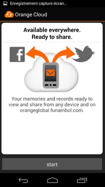 Orange Cloud screenshot 3
