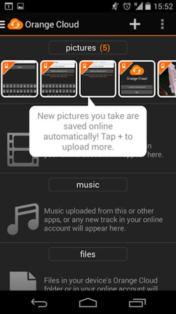 Orange Cloud screenshot 4
