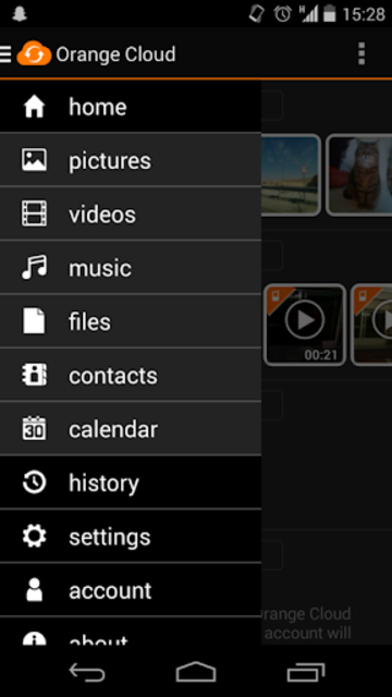 Orange Cloud screenshot 6