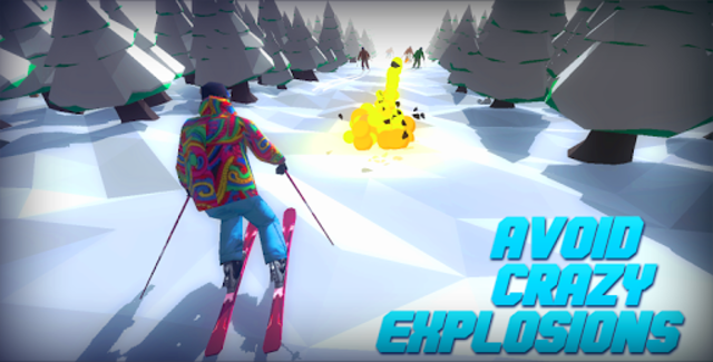 Racing in Mountain Ski 2019: Top Hill Skiing Racer screenshot 3