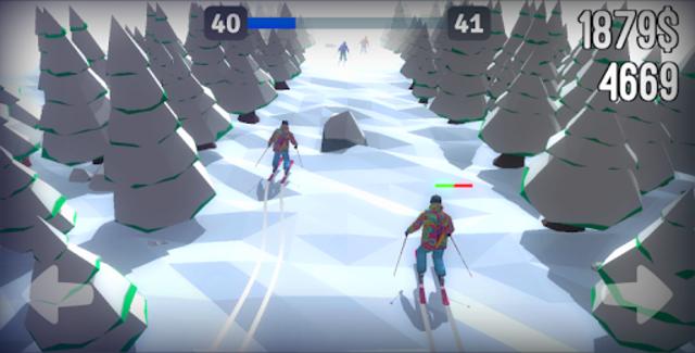 Racing in Mountain Ski 2019: Top Hill Skiing Racer screenshot 5