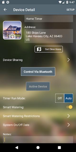 bhyve Pro screenshot 2