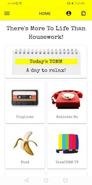 The TeamTOMM App screenshot 2