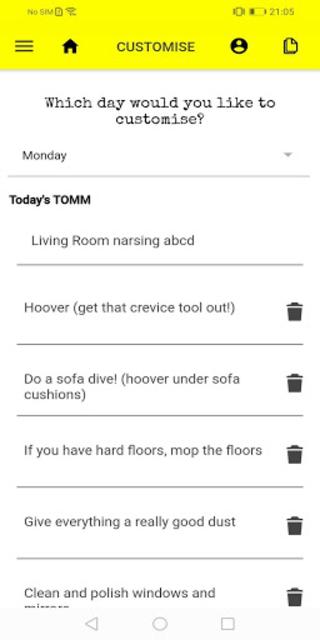 The TeamTOMM App screenshot 4