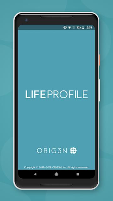LifeProfile screenshot 1