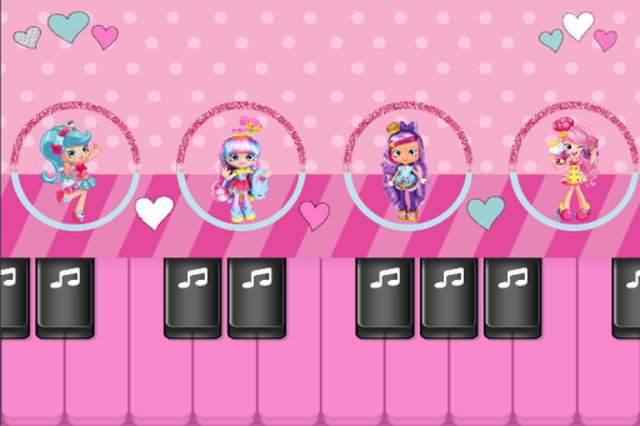 Surprise Dolls : Play Pink Piano Tiles Music Game screenshot 1