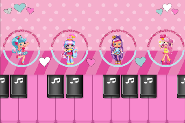 Surprise Dolls : Play Pink Piano Tiles Music Game screenshot 2