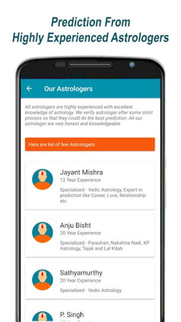 Ask Prediction: Authentic Guru on Astrology App screenshot 6