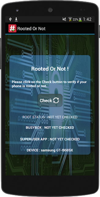 Rooted or not screenshot 1
