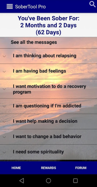 SoberTool Pro - Addiction, Alcoholism Sobriety App screenshot 1