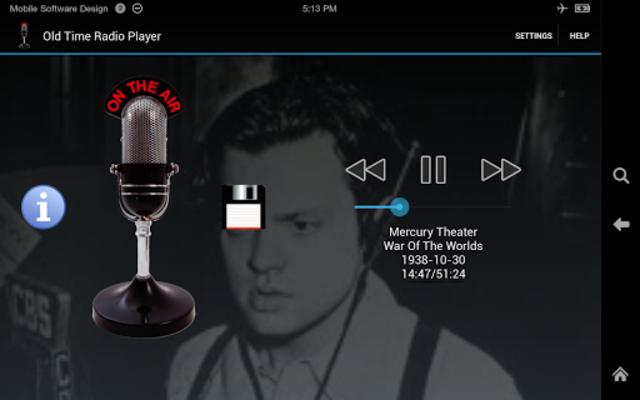 Old Time Radio Player (no ads) screenshot 5