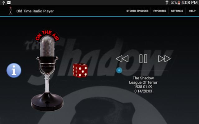 Old Time Radio Player (no ads) screenshot 9