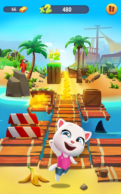Talking Tom Gold Run screenshot 19