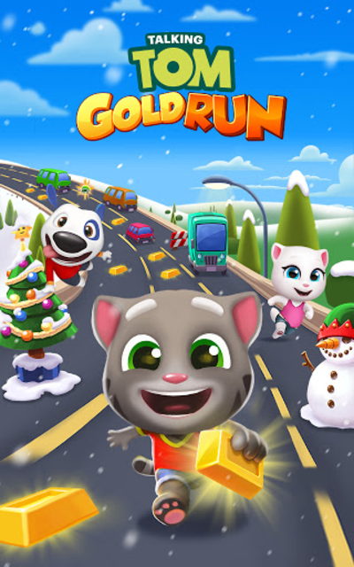 Talking Tom Gold Run screenshot 16