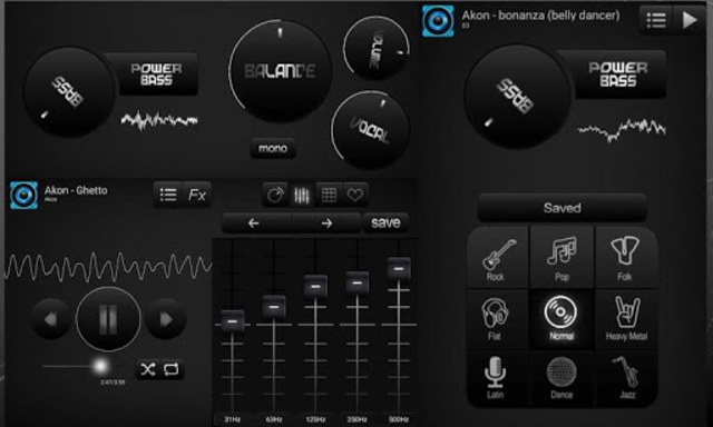 Bass Booster and Equalizer Pro screenshot 2