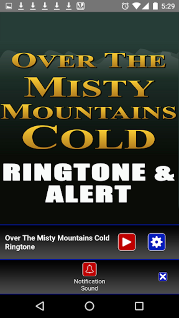 The Misty Mountains Ringtone screenshot 4