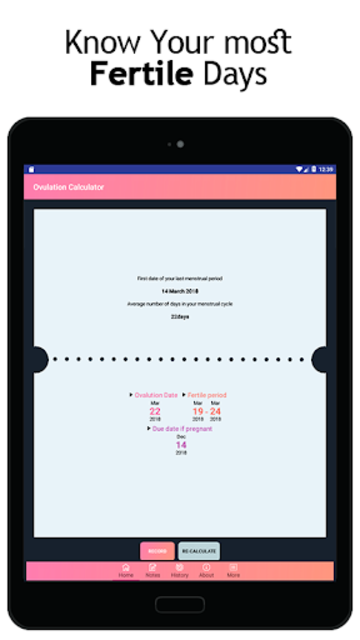 Ovulation Calculator - Ovulation Calendar screenshot 8