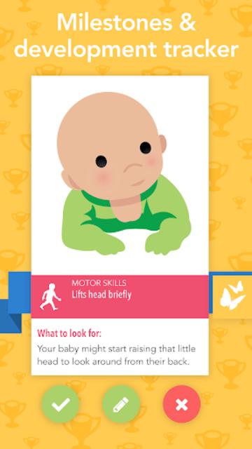 Ovia Parenting: Baby Tracker, Breastfeeding Timer screenshot 3