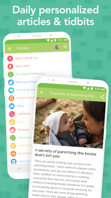 Ovia Parenting: Baby Tracker, Breastfeeding Timer screenshot 4